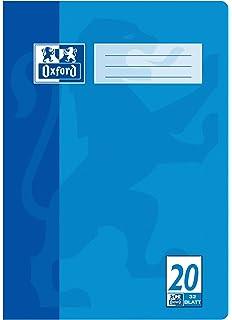 Oxford - Cuaderno (A4, diseño 20, en blanco, 32 hojas, lote