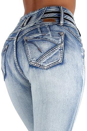 8cb4881ac5e7c Fashion2Love Colombian Design Butt Lifter High Waist Skinny Plus ...