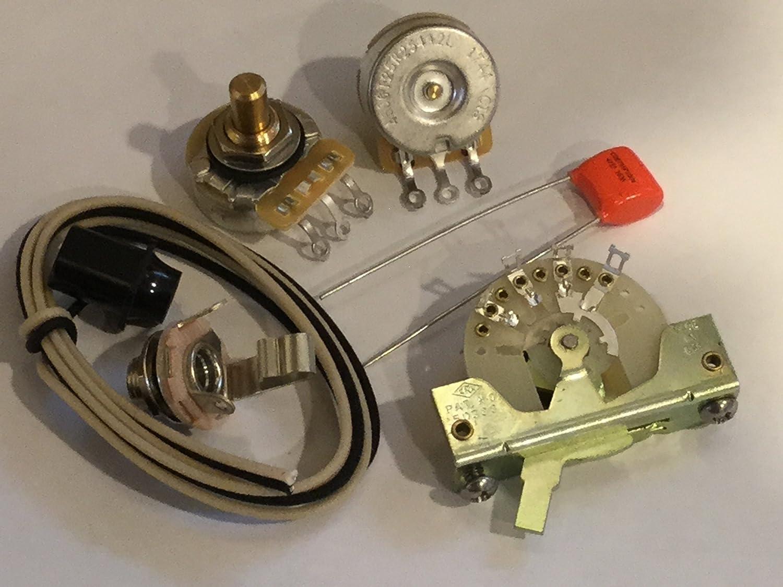 Deluxe Wiring Kit for Fender Telecaster (Tele) on
