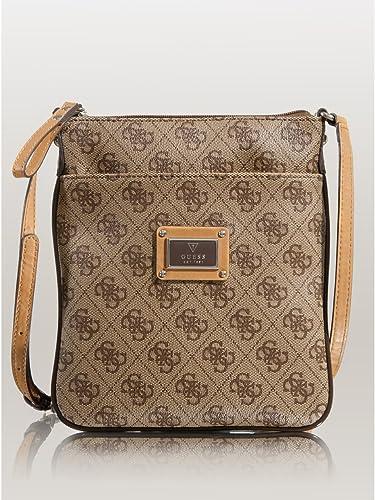 e83dfd532e7 Amazon.com  GUESS Women s Scandal Mini Crossbody Brown Crossbody Bag  Shoes