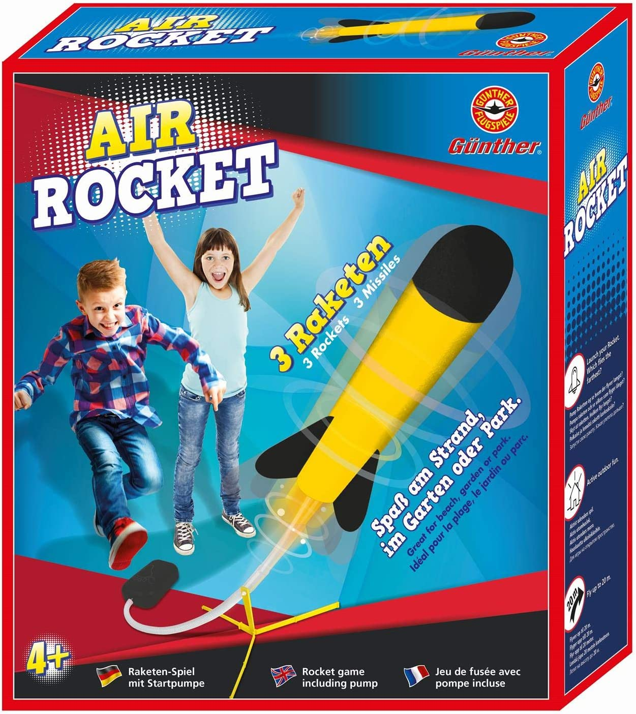 Garten Gadget: Air Rocket