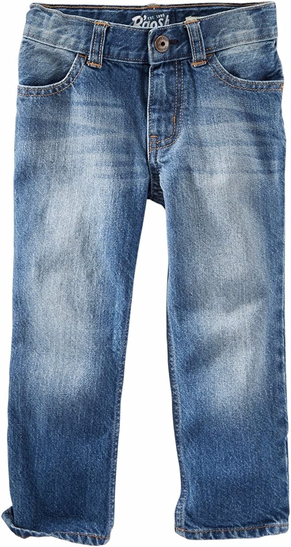 Mellow Medium Denim OshKosh BGosh Little Boys Straight Jeans