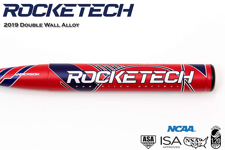 2019 Anderson Rocketech 9 Fastpitch Softball Bat