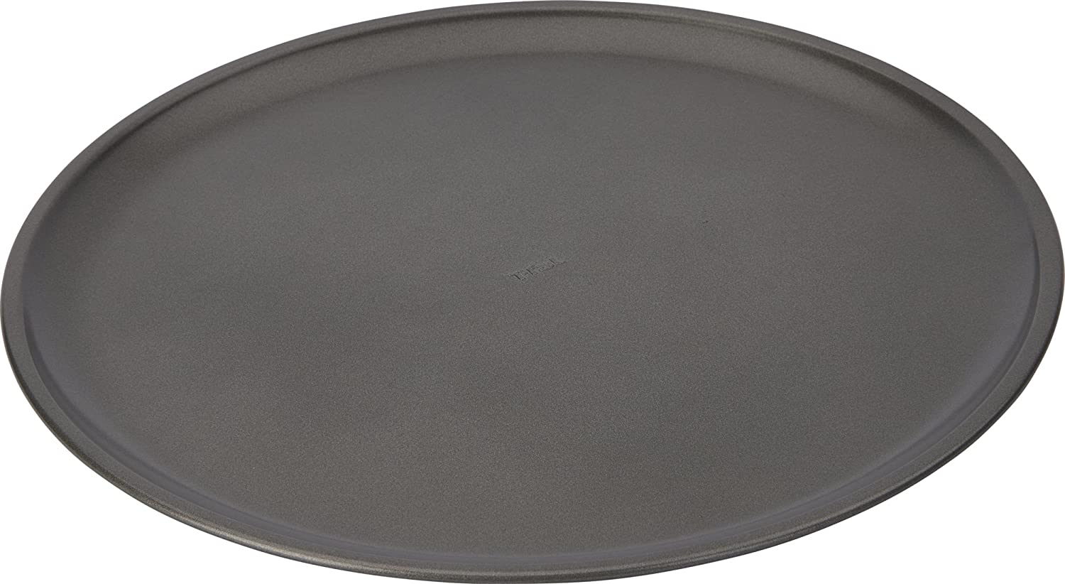 T-fal 84851 Signature Nonstick Pizza Pan, Large, Gray