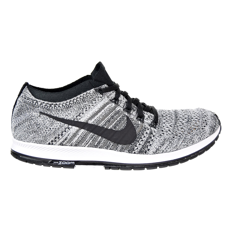 NIKE Unisex Flyknit Racer Running Shoe B0745934JW 6.5 B(M) US|Black/Black-wolf Grey-white