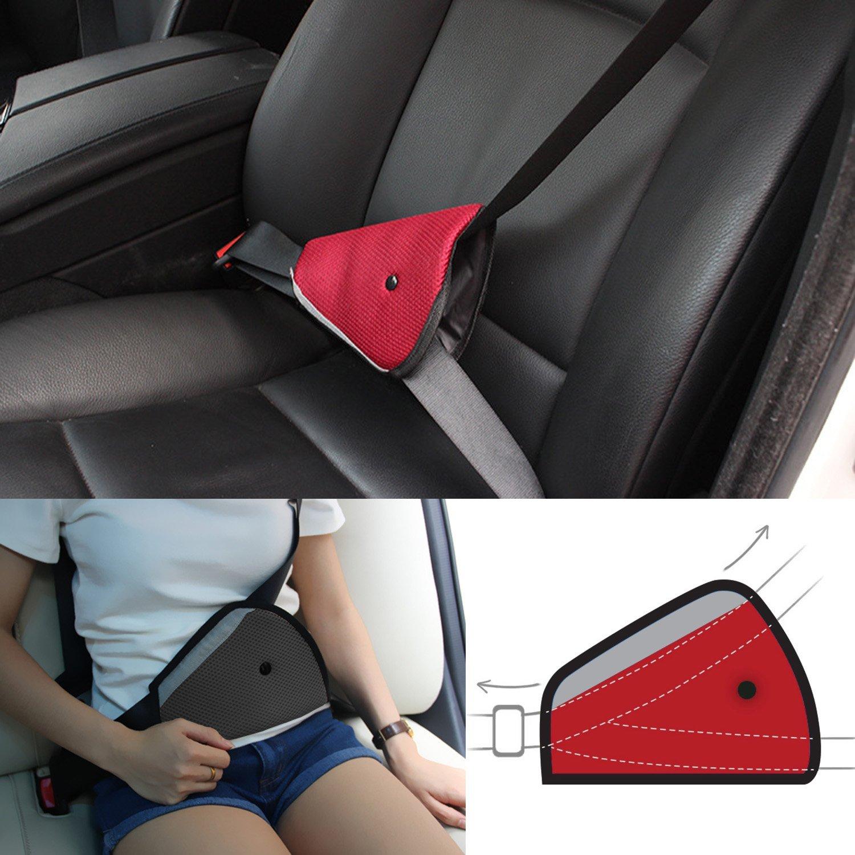 Amazon.com: Seatbelt Adjuster, HONTECH 2 Packs Seat Belt Safety ...