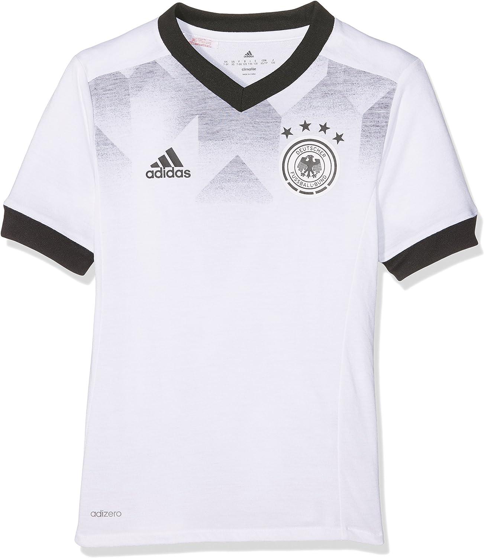 adidas DFB H Preshi Y Camiseta de Selección Alemana de Fútbol, Niños: Amazon.es: Ropa y accesorios