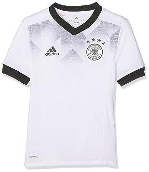 Adidas DFB H Preshi Y Camiseta Selección Alemana de Fútbol, Niños: Amazon.es: Deportes y aire libre