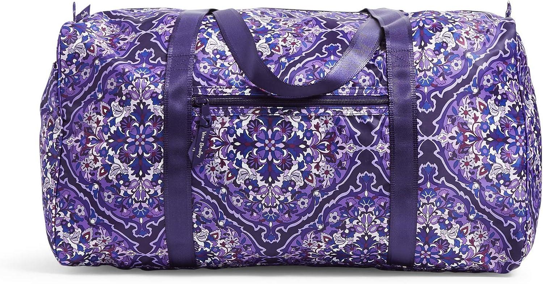 Vera Bradley Women's Duffle Packable Duffel Travel Bag, Garden Grove, One Size