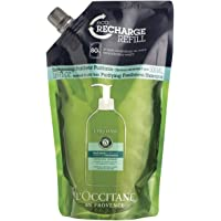 L'Occitane Aromachologie Purifying Freshness Shampoo Refill Enriched with 5 Essential Oils for Normal to Oily Hair, 16.9…