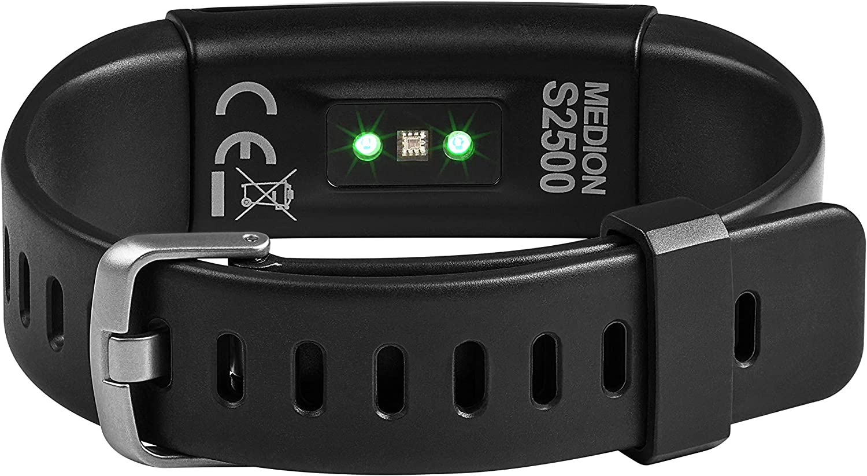 MEDION LIFE E1000 Fitnessarmband Schrittzähler Display Pulsuhr Schlaftracker