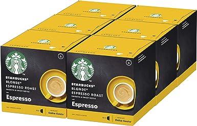 STARBUCKS Blonde Espresso Roast De Nescafe Dolce Gusto Cápsulas De ...