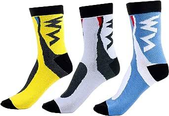 Vordas 3 Pares Calcetines de Deporte de Hombre de Mujer, Calcetines de Trekking y Montaña (Tamaño: 39-42)