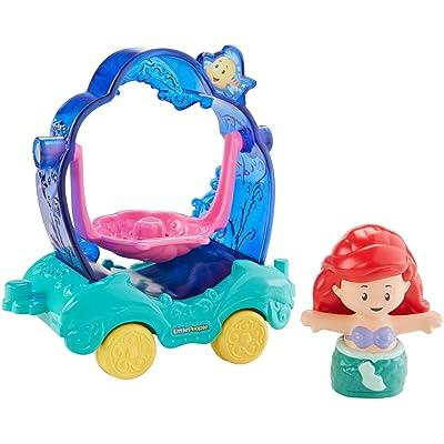 Fisher-Price Little People Disney Princess, Parade Ariel & Flounder's Float: Toys & Games