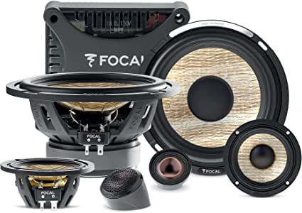 Focal PS 165 F3E Flax EVO 6.5 3-Way Component kit, RMS: 80W - MAX: 160W PS165F3E