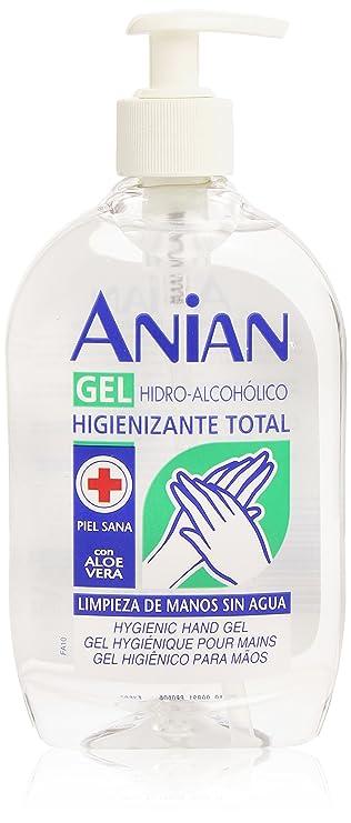 Amazon Com Anian Hidro Alcoholico Gel Manos 500 Ml Beauty