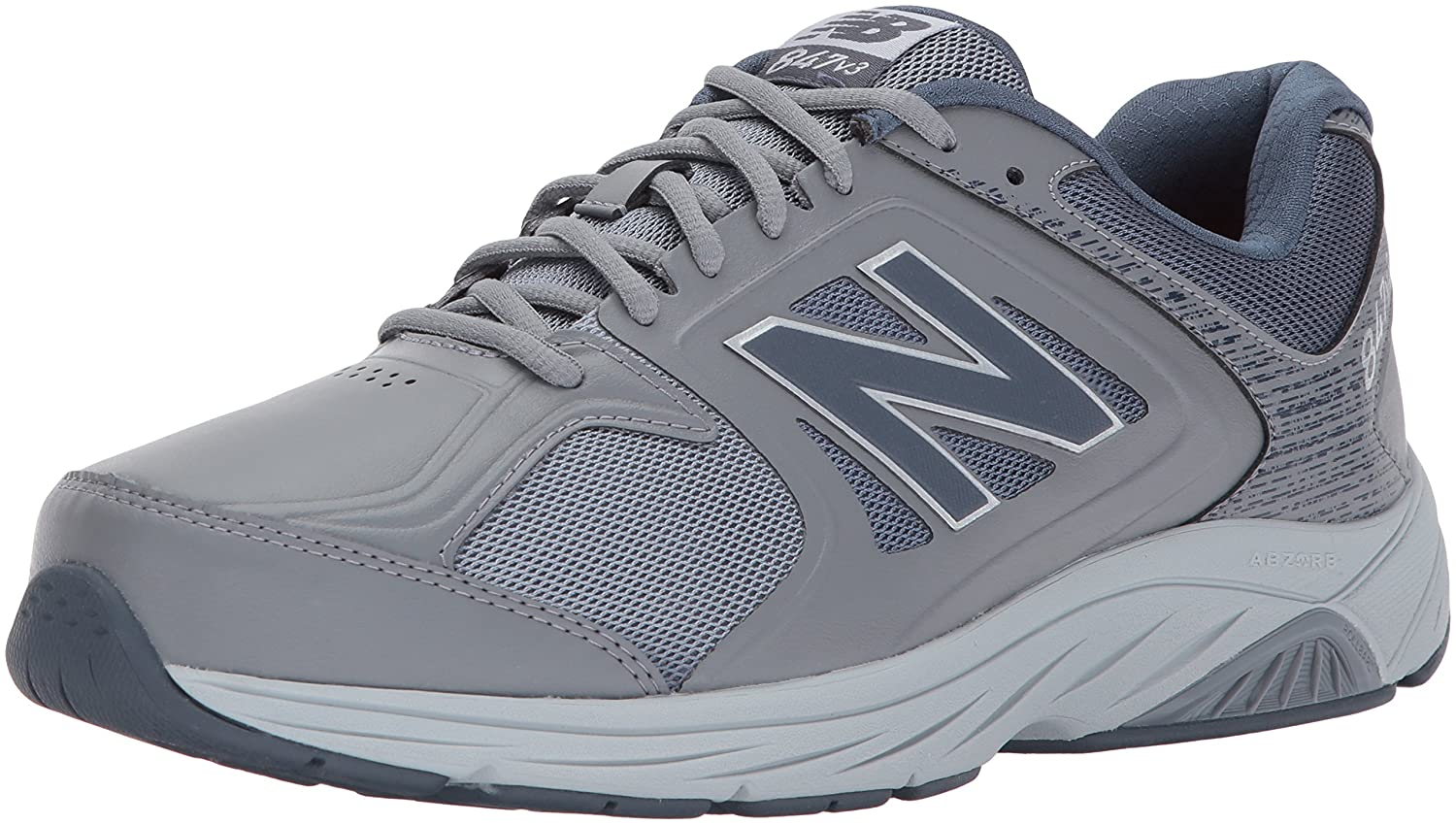 New Balance Men's 847V3 Walking Shoe 7.5 2A US|Grey