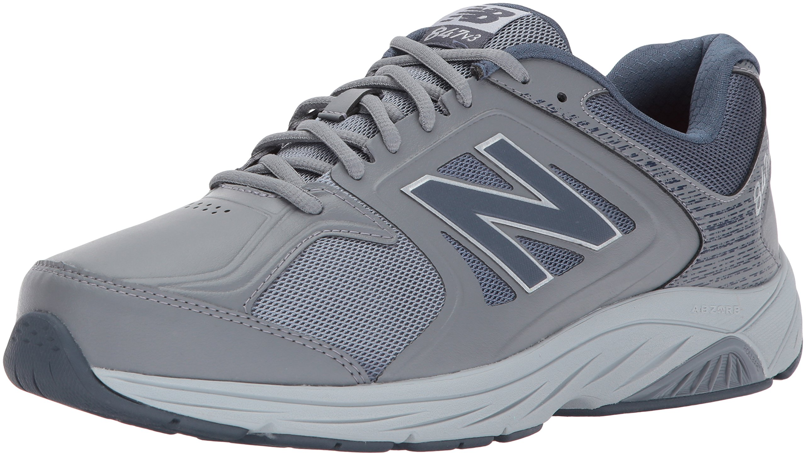 New Balance Men's 847V3 Walking Shoe, Grey, 12.5 D US