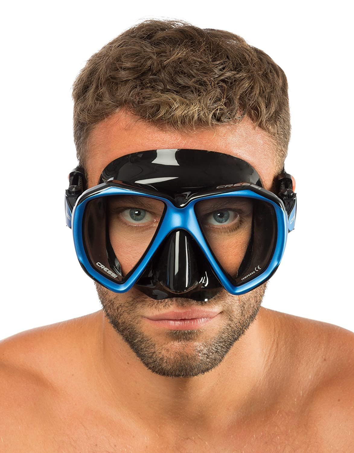 Cressi Adult Scuba Diving Snorkeling Mask in Pure Comfortable Silicone Liberty Duo SPE