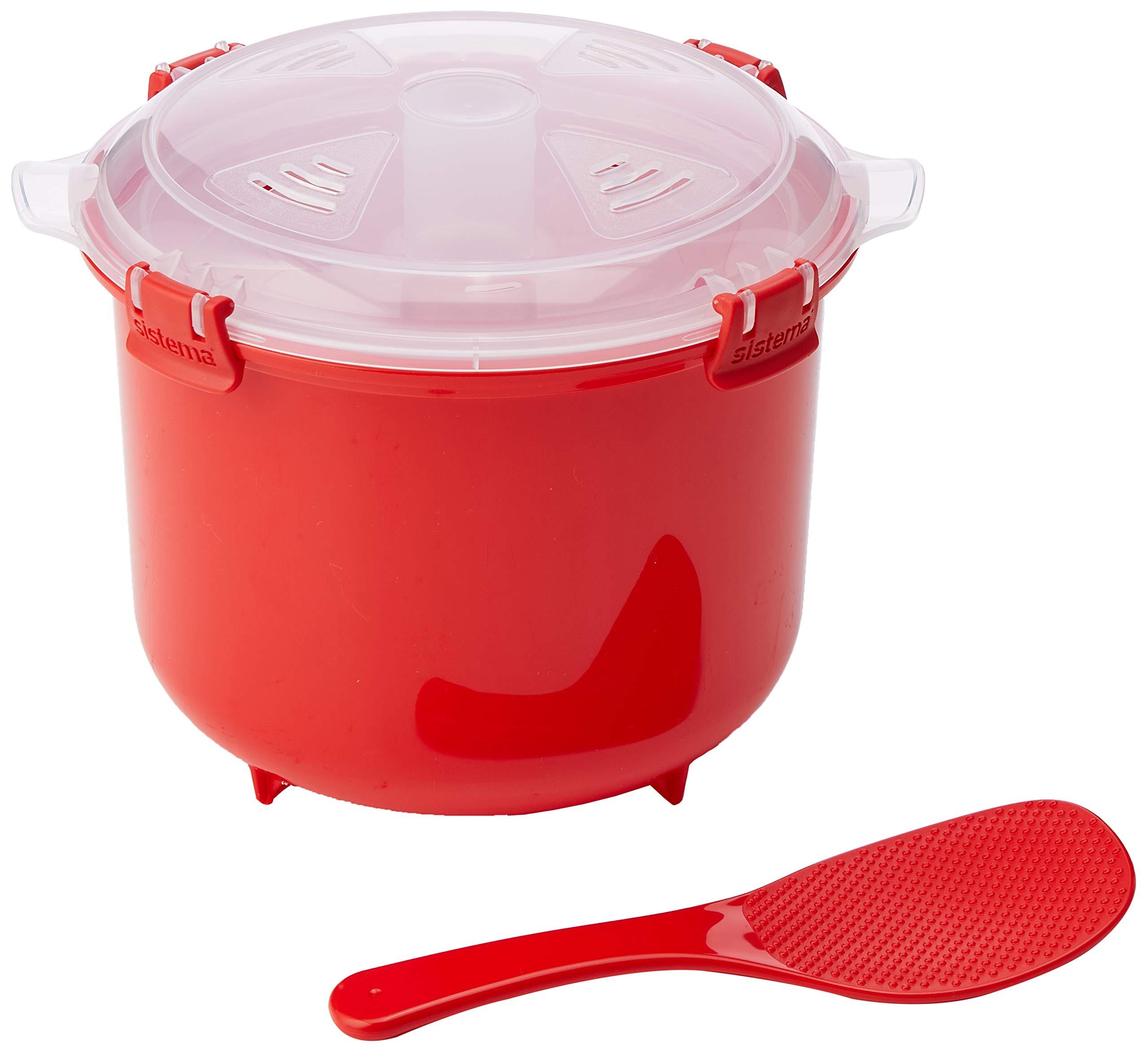 Sistema SI1110 Micro-Ondes Cuiseur à Riz Plastique Rouge 45 x 35 x 25 cm 2,6 L product image