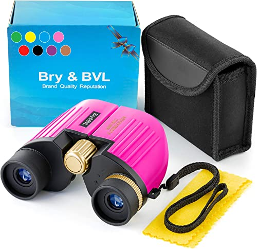 Binoculars for Kids – High Resolution, Shockproof 8X22 Kids Binoculars for Bird Watching, Best Gift for Boys, Girls Real Optics Set for Outdoor Toddler Games Detective and Spy Kids Toys