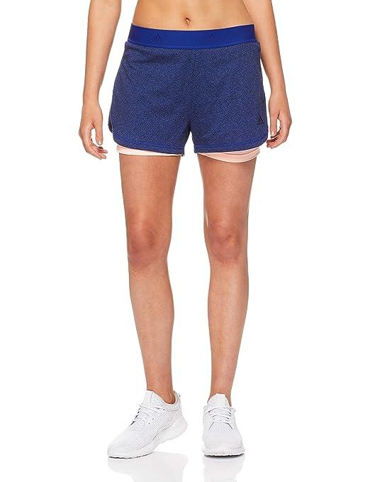 reputable site bb844 62675 adidas 2in1 Soft Pantalón Corto, Mujer Amazon.es Deportes y