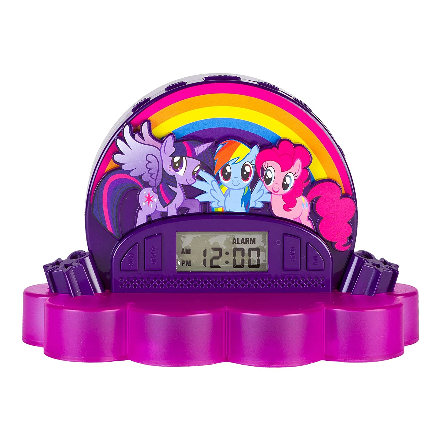 My Little Pony 52357-TRU Alarm Clock Radio (52357) Sakar International  Inc.
