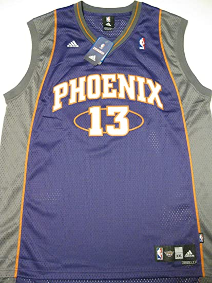 meet ac7a1 5e6b0 Amazon.com : Steve Nash Jersey: adidas Purple Swingman #13 ...