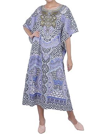 016ef9323a9b Kaftan Tunika Kostenlos Größe Kleider für Frauen Strand Abdeckung ...
