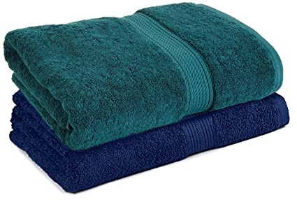 a4527146ed4 Image Unavailable. Image not available for. Colour  TRIBECCA 2 Piece 500 GSM  Large Cotton Bath Towel Set ...