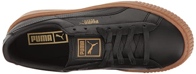 wholesale dealer 55883 0fb31 PUMA Women's Basket Platform Core Fashion Sneaker