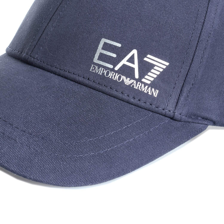 ef1420ef Emporio Armani EA7 Train Core Baseball Cap in Blue - One Size: Emporio  Armani EA7: Amazon.co.uk: Clothing
