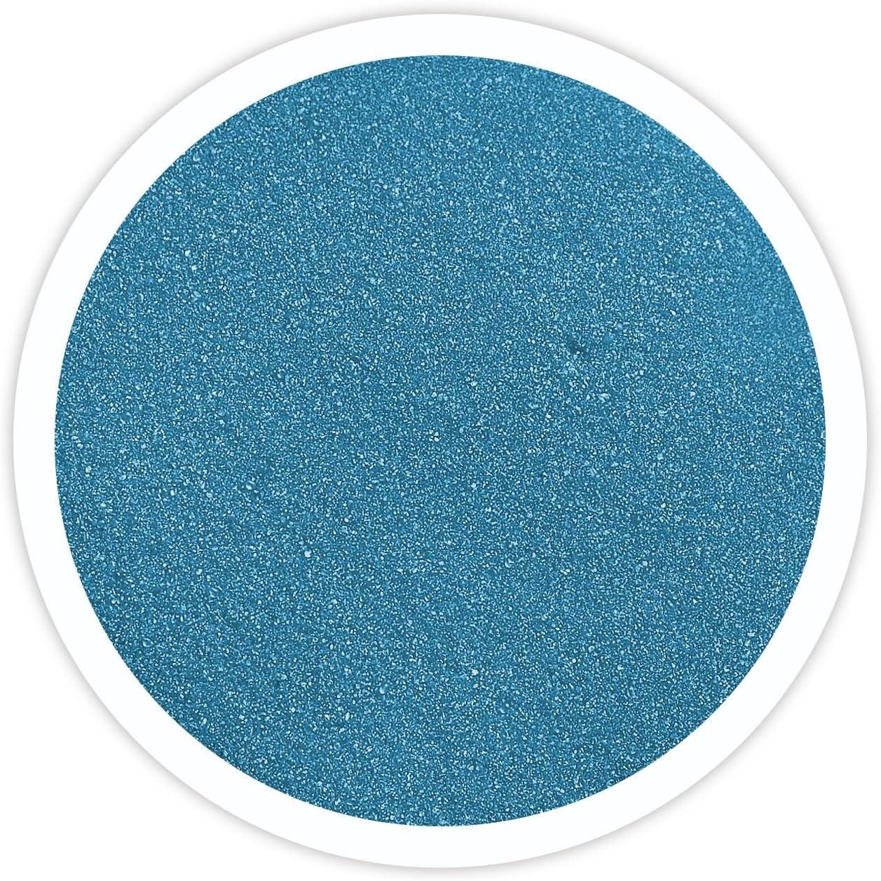 Sandsational Cornflower Blue Unity Sand~1.5 lbs (22 oz), Blue Colored Sand for Weddings, Vase Filler, Home Décor, Craft Sand