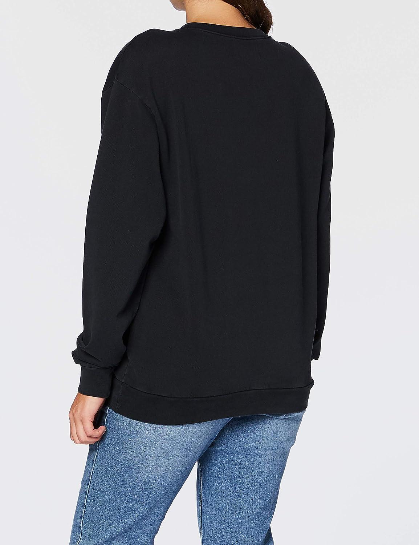 Replay Damen Sweatshirt 098 Black