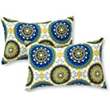 Greendale Home Fashions Rectangle Outdoor Accent Pillows, Summer, Set of 2