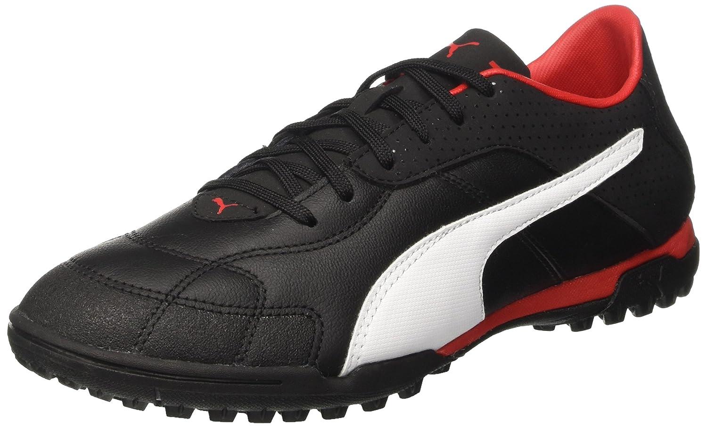 Puma Esito C TT, Zapatillas de Fútbol Americano para Hombre 40.5 EU|Negro (Puma Black-puma White-puma Red)