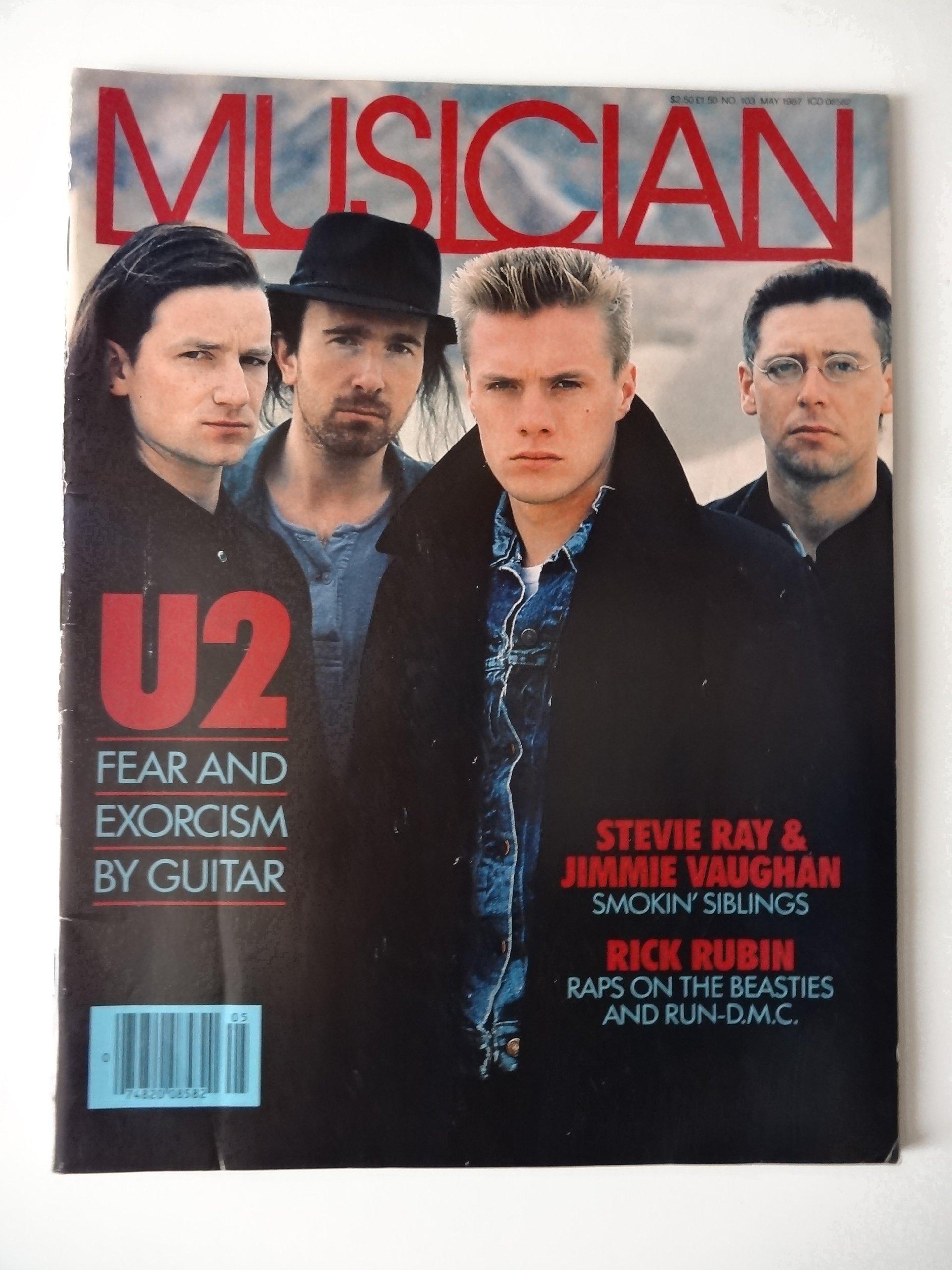 U2 Musician Joshua Tree Era Magazine: Bono: 7501055300075: Amazon.com: Books