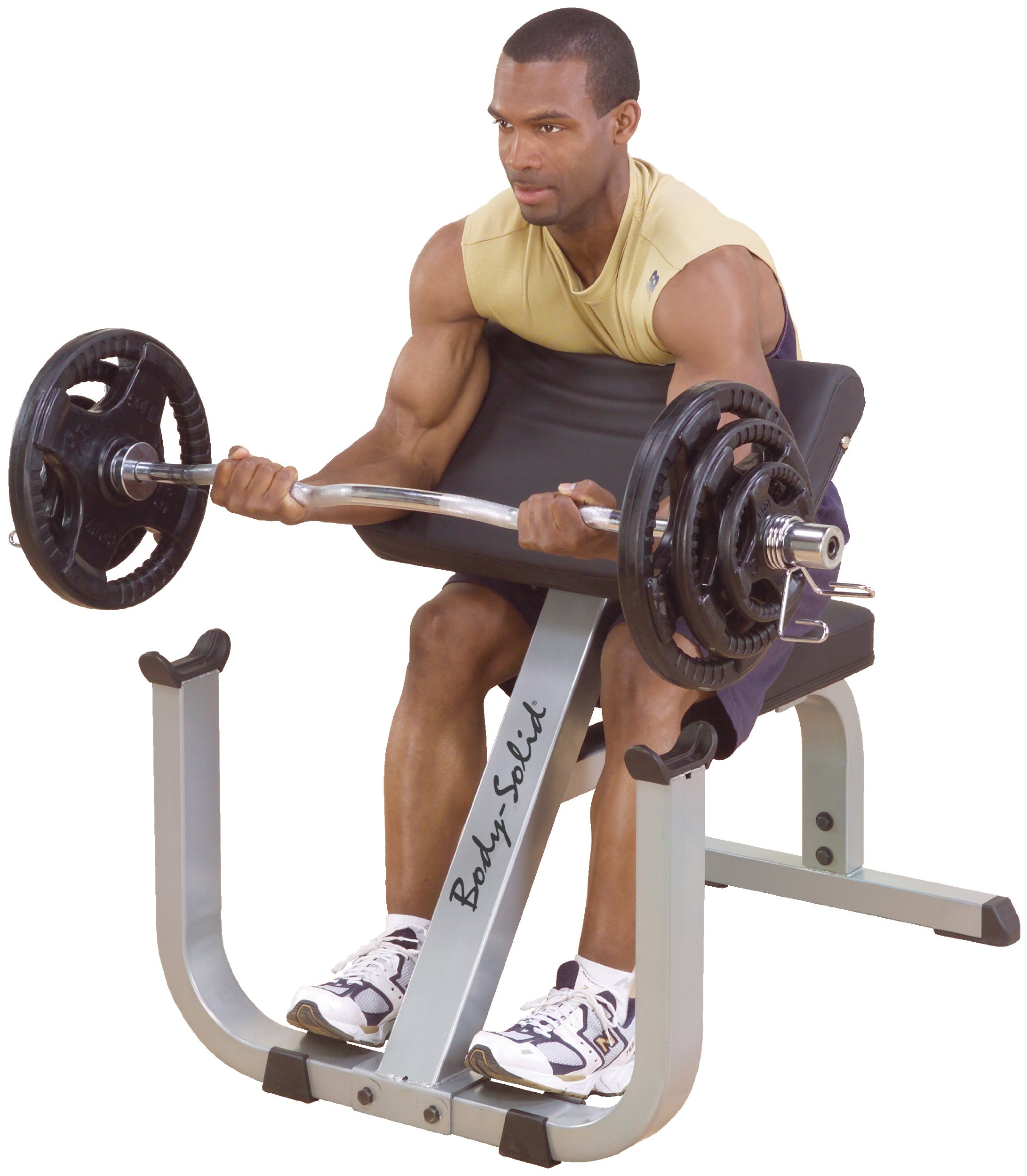 Body-Solid GPCB329 Preacher Curl Bench by Body-Solid