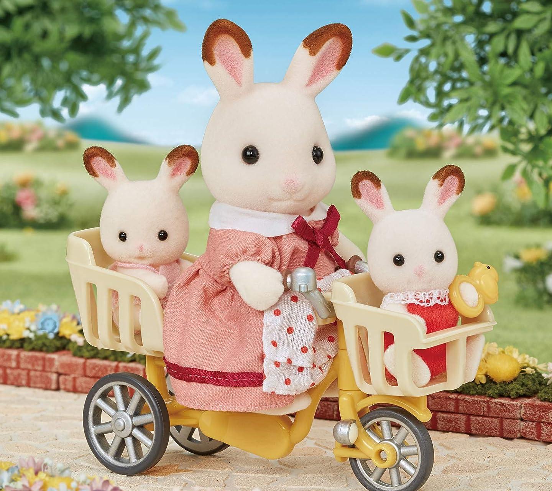 シルバニアファミリー 三人乗り自転車 HD(1440×1280)スマホ 壁紙・待ち受け