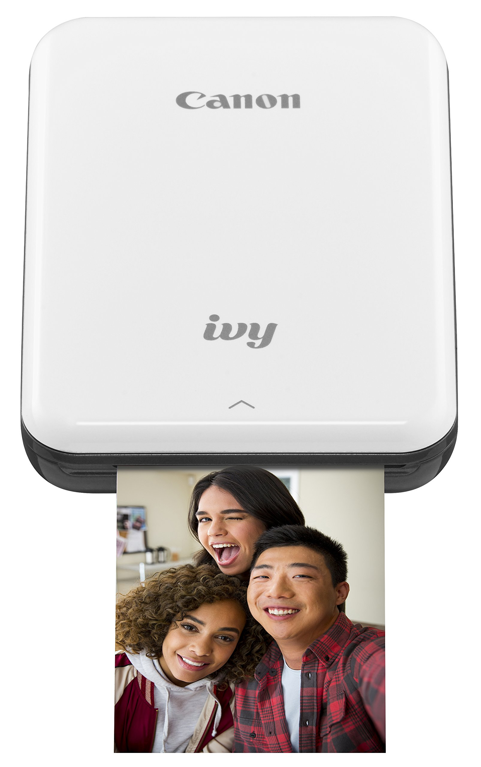 Canon IVY Mobile, Portable Mini Photo Printer, Slate Gray with Zink Photo Paper Pack, 50 sheets by Canon (Image #1)
