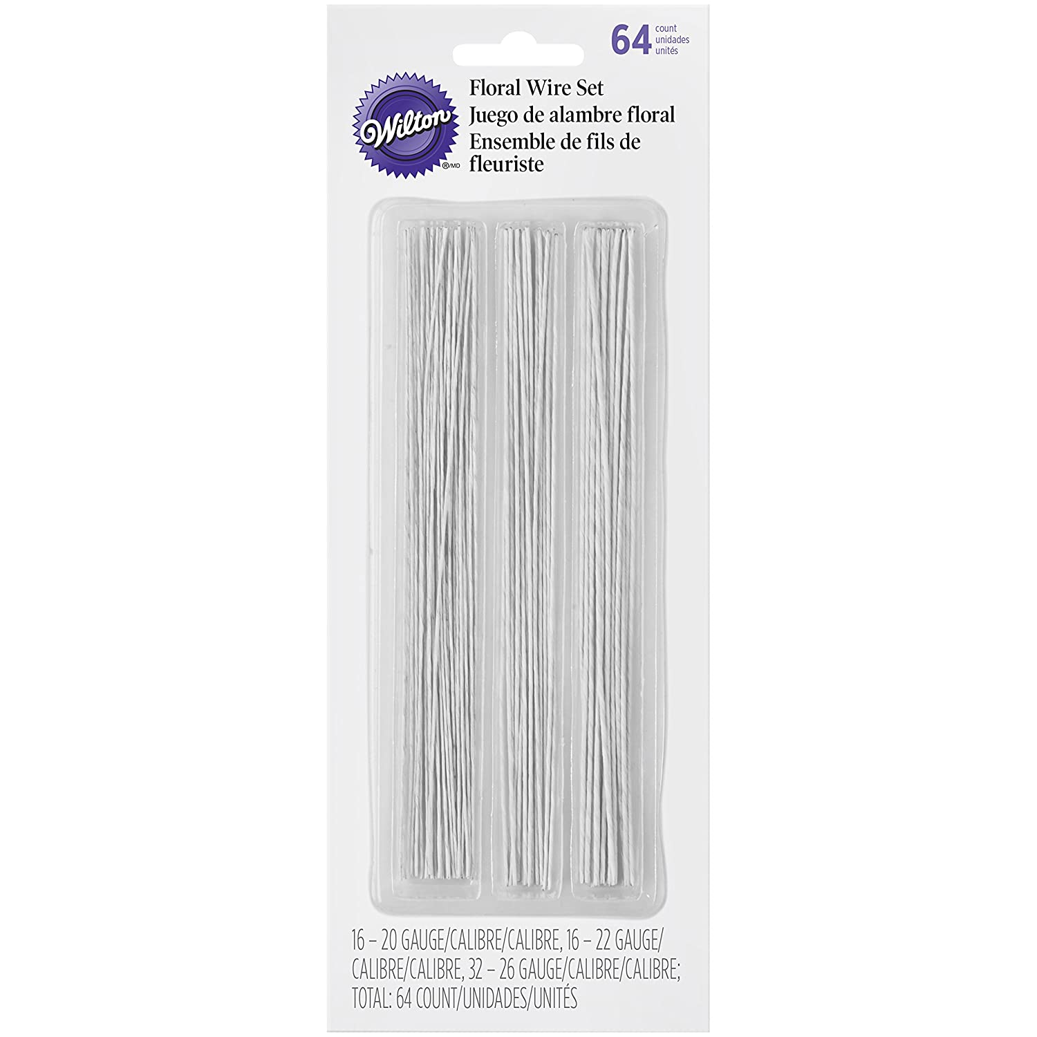 Amazon.com: Wilton 1005-4456 Gum Paste Floral Wire: Kitchen & Dining