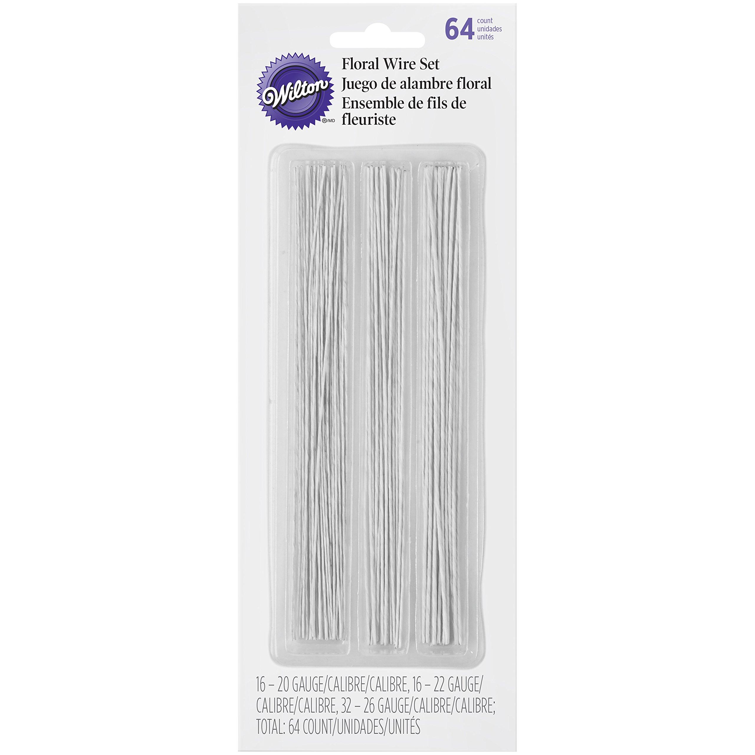 Wilton 1005-4456 Gum Paste Floral Wire