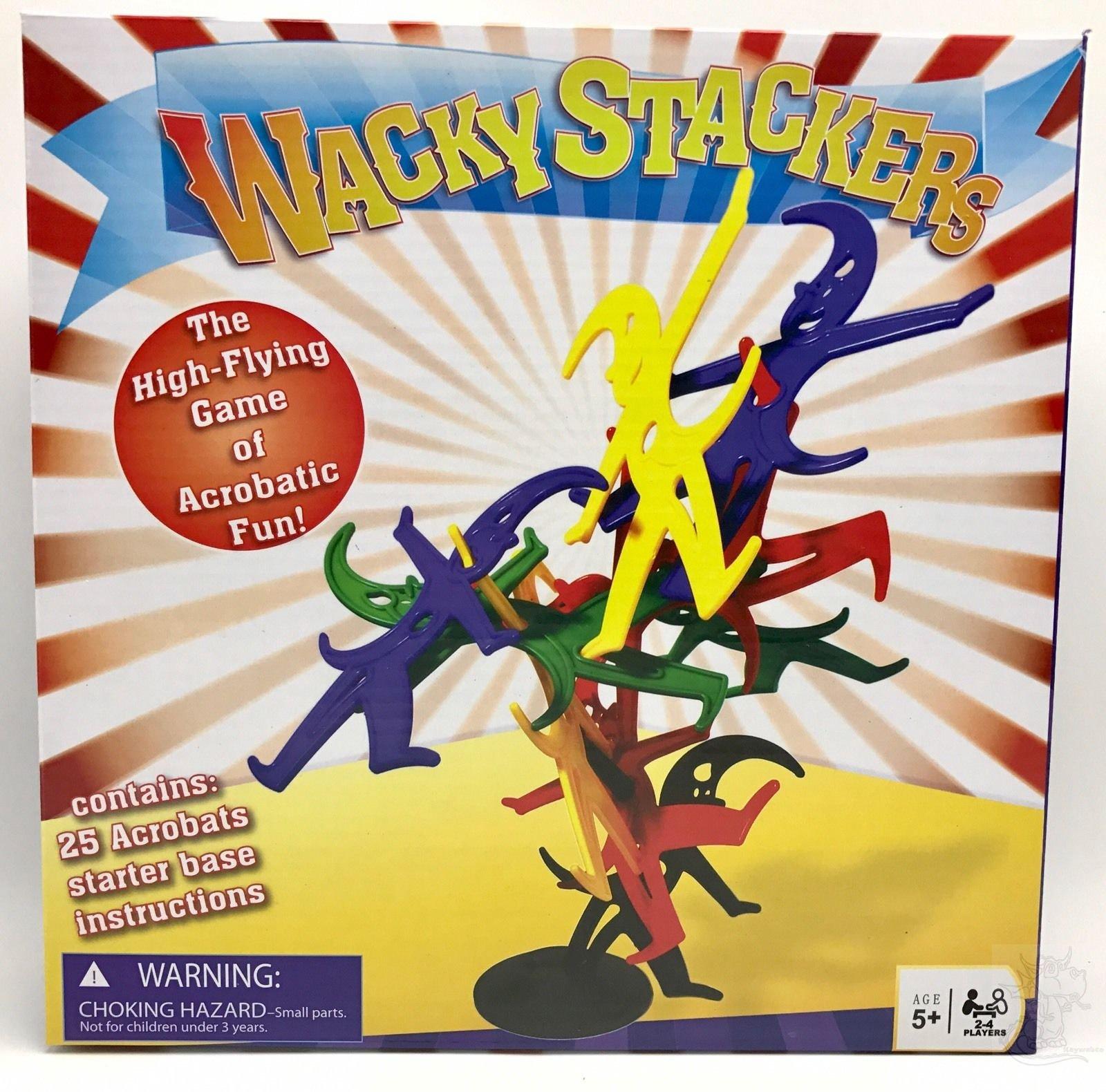 NEW Wacky Stackers High-flying Game of Acrobatic Fun 5+ Boys and Girls