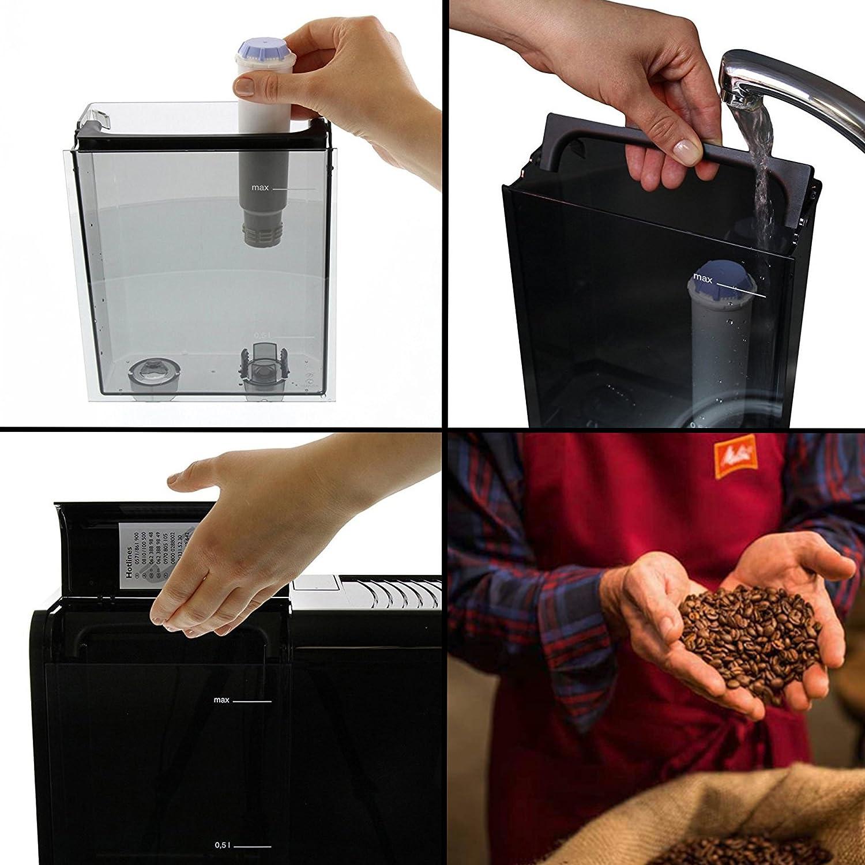 1.8 Litri Melitta Caffeo Ci Macchina per Caff/é e per Bevande Calde Automatica plastica Grigio