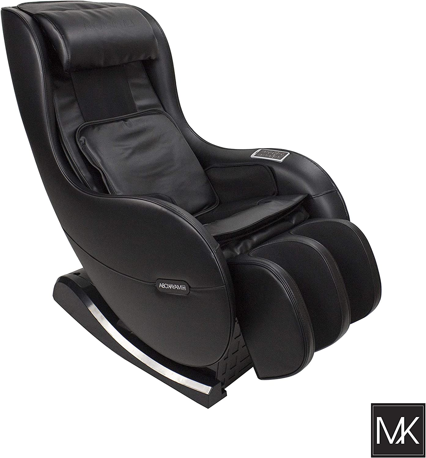 MAYAKOBA Full Body Shiatsu Massage Chair Zero Gravity Recliner Kneading, Knocking Compact Massage Chair with USB, Bluetooth and Speakers