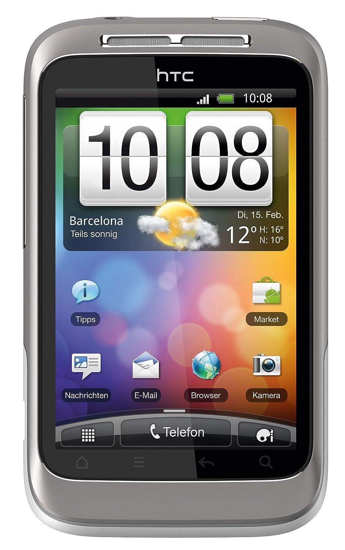 Smartphone HTC WILDFIRES BLANC GRIS