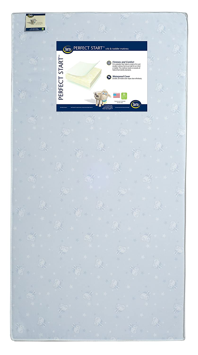 Amazon.com : Serta Sertapedic Crib Mattress Liner Pads (Pack of 2)| Extra Protection for Babys Crib with Nanotex Technology| 100% Waterproof, White : Baby