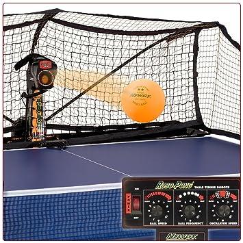 Robo-Pong 2040 Newgy tenis de mesa máquina: Amazon.es: Deportes y aire libre