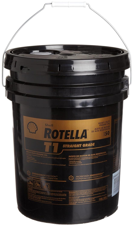 Amazon.com: Shell ROTELLA 550019891 T1 30 Heavy Duty Engine Diesel Oil (CF/CF-2) - 5 Gallon Pail: Automotive