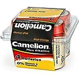 Camelion 飞狮 LR20-PB4 超强碱性1号电池 4粒盒装
